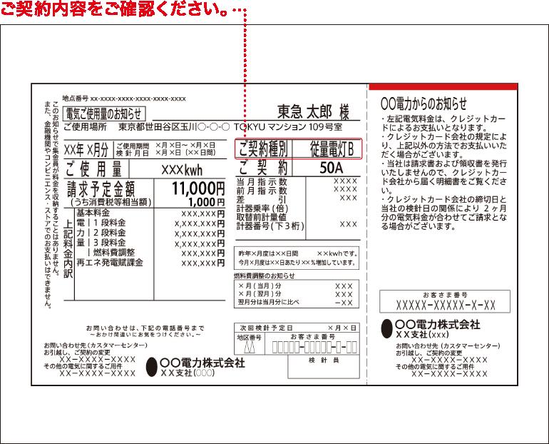 電力 料金 確認 東京